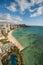 Stock Image : Waikiki Beach with Diamond Head Crater
