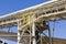 Stock Image : Walkway and a Conveyor Belt