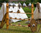 Stock Image : War Equipment and Other Utensils in an Ancient Celtic Encampment