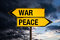 Stock Image : War or Peace