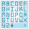 Stock Image : Water Pipe Alphabet Font Character