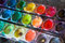 Stock Image : Watercolor Paints 2