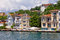 Stock Image : Waterfront Houses Along The Bosphorus Strait