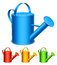 Stock Image : Watering can.