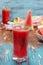 Stock Image : Watermelon juice