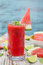 Stock Image : Watermelon sangria