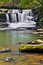 Stock Image :  Waterval op Dunloup-Kreek