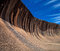 Stock Image : Wave rock