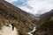 Stock Image : Way to South Everest Base Camp in Himalayas,Nepal