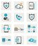 Stock Image : Web icons set
