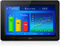 Stock Image : Web site analytics on tablet PC screen