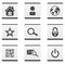 Stock Image : Web site icons set