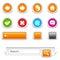 Stock Image : Web site navigation buttons