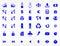 Stock Image : Websitebeståndsdelar och symboler