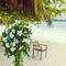 Stock Image : Wedding bouquet of frangipani