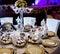 Stock Image : Wedding table arrangement