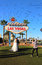 Stock Image : Wedding at the Welcome to Fabulous Las Vegas Sign