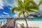 Stock Image :  Weg aan paradijs