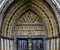 Stock Image : Westminster Abbey Entrance Door