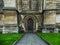 Stock Image : Westminster Abbey Side Door