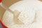 Stock Image : White flour