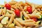 Stock Image : Whole wheat pasta salad