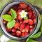 Stock Image : Wild strawberry