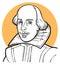 Stock Image : William Shakespeare
