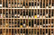 Stock Image : Wine bottles in wine store