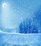 Stock Image : Winter background