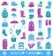 Stock Image : Winter fashion
