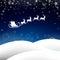 Stock Image : Winterscene - christmas card