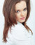 Stock Image : Woman beautiful face portrait.