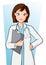Stock Image : Woman Doctor