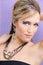Stock Image : Woman Eyeshadow Hairstyle