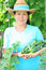 Stock Image : A woman farmer