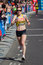 Stock Image : Woman marathon runner