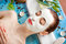 Stock Image : Woman with spa mask