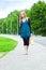 Stock Image : Woman walking