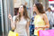 Stock Image : Women shopping in the city