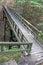 Stock Image : Wood bridge