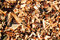 Stock Image : Wood chips background.