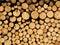 Stock Image : Wood pile