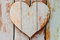 Stock Image : Wooden hearts shaped