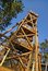 Stock Image : Wooden lookout tower