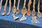 Stock Image : Wooden spoons