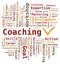 Stock Image : Word Cloud - Coaching