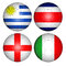 Stock Image : World cup 2014 group D