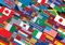 Stock Image : World Flag Background Ready for Your Text & Design