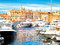 Stock Image : Yacht Harbor of St.Tropez, France